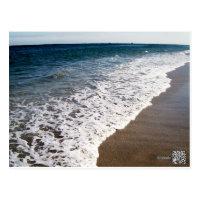 WHITE WASH WAVES OF FLORIDA POSTCARD