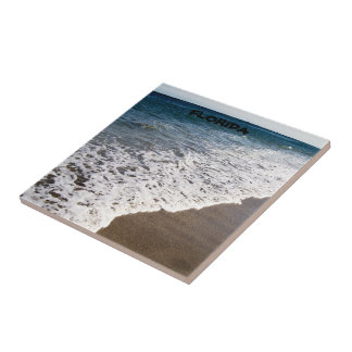 WHITE WASH WAVES OF FLORIDA SMALL SQUARE TILE