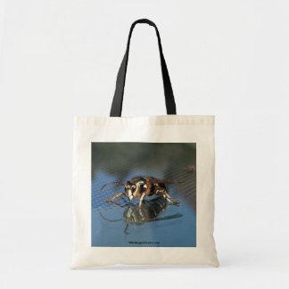 White Wasp Tote Bag