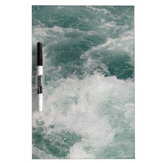 White Water Dry-Erase Board