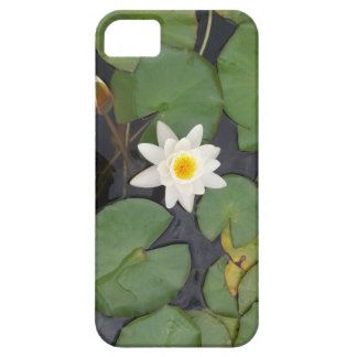 White Water Lilly iPhone SE/5/5s Case