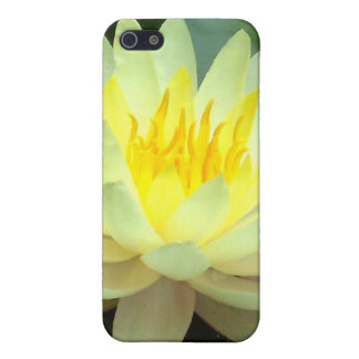 White Water Lily Case For iPhone SE/5/5s