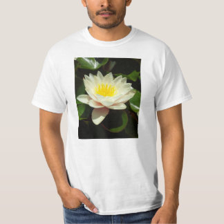 White Water Lily Flower T-shirt