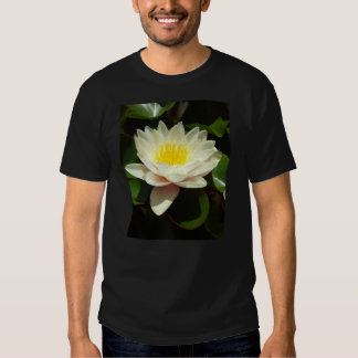 White Water Lily Flower Tees