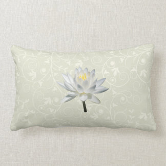 White Water Lily in Sunshine Pillows