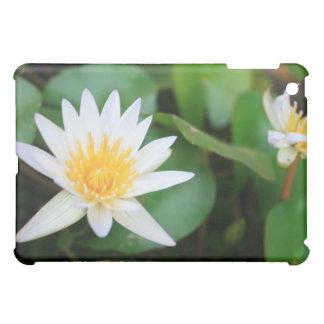 White Water Lily iPad Mini Cover
