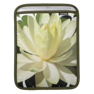 White Water Lily iPad Sleeve