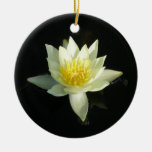 White Water Lily/Lotus Christmas Ornament