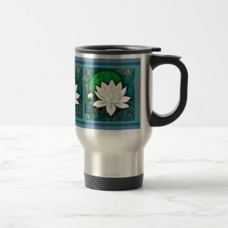 White Water Lily Mug