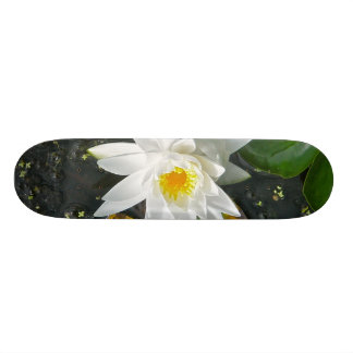 White Water Lily Skateboard