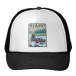 White Water Rafting - Idaho Mesh Hat