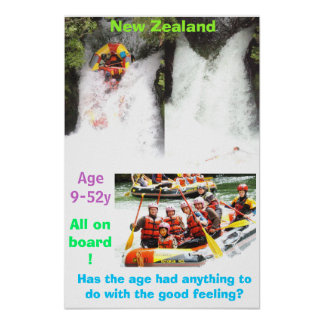 White water rafting posters