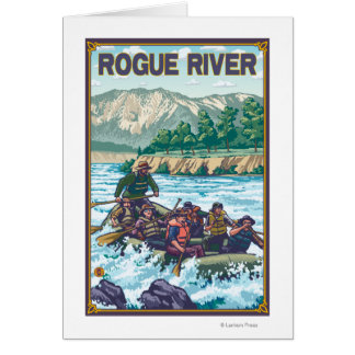 White Water Rafting - Rogue River, Oregon Card