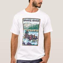 White Water Rafting - Snake River, Idaho T-Shirt