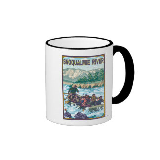 White Water Rafting - Snoqualmie River, Coffee Mugs