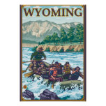 White Water Rafting - Wyoming Posters