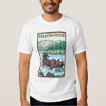 White Water Rafting - Yellowstone National Park T-Shirt