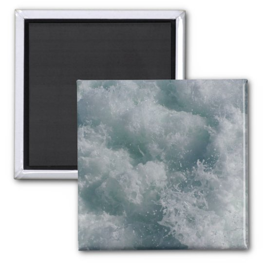 White Water Rapids Photograph Magnet