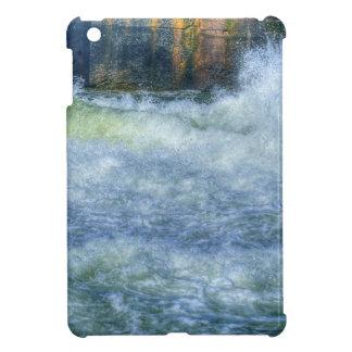 White Water Rushing River Nature Scene iPad Mini Case