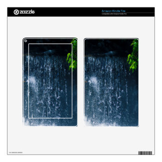 White Water Splash Nature Photography Kindle Fire Skins