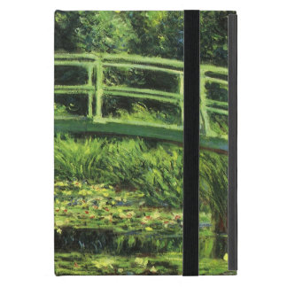White Waterlilies by Claude Monet, Vintage Art Case For iPad Mini