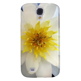 White Waterlily Samsung Galaxy S4 Covers