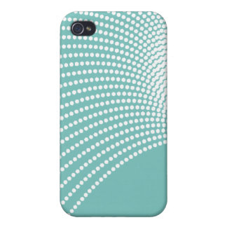White Waves Covers For iPhone 4