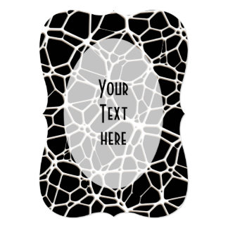 White Web Texture + your bachgr. & ideas Card