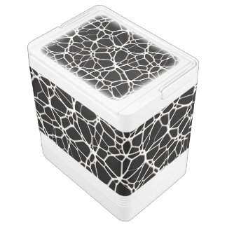 White Web Texture + your bachgr. & ideas Igloo Drink Cooler