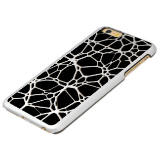 White Web Texture + your bachgr. & ideas Incipio Feather Shine iPhone 6 Plus Case