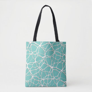 White Web Texture + your bachgr. & ideas Tote Bag