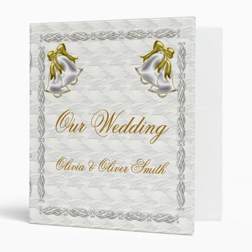 White Wedding Binder