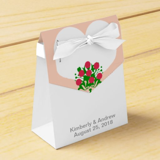 Wedding Gift Box Picture : White Wedding Dress Bride Wedding Favor Gift Boxes Party Favor Boxes ...