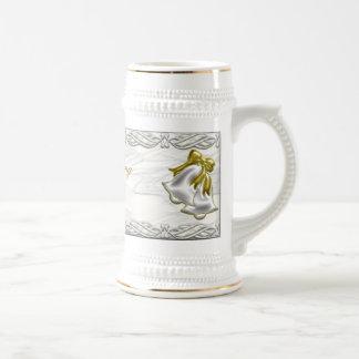 White Wedding Mugs