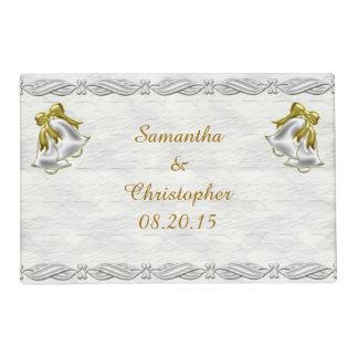 White Wedding Placemat