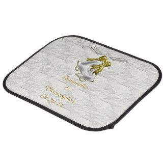 White Wedding Floor Mat