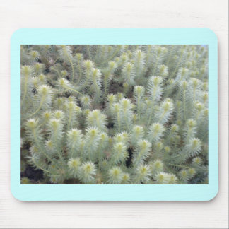 White weed 1 mouse pad