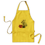 White Westie Terrier Aprons