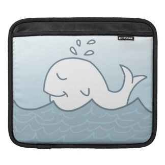White Whale In The Sea, Illustration Sleeve For iPads