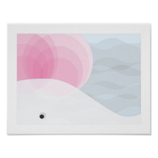 White Whale Nursery Decor | Pink, White and Grey