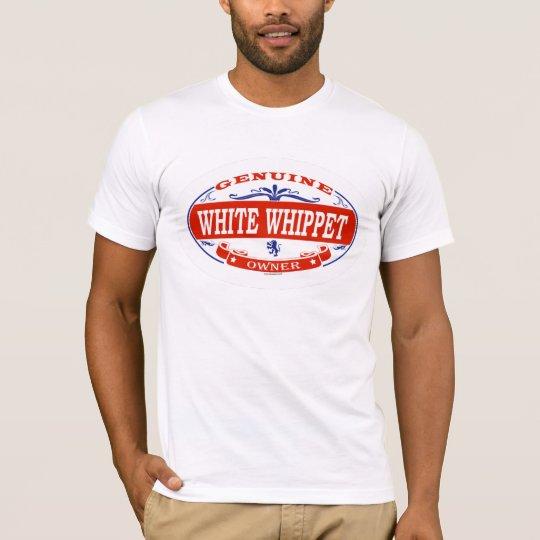 WHITE WHIPPET_ T-Shirt