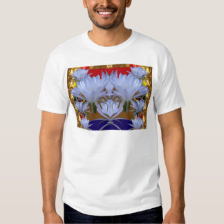 WHITE Wild Lilly Flowers  Greetings gifts bLESSING Tee Shirt