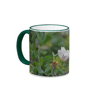 White Wild Rose Mug