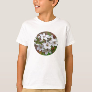 White Wildflower & Bee Fly T-Shirt