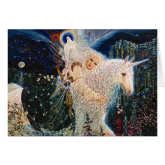 White Wind - Messenger of Love by Elizabeth Kyle. Greeting Card