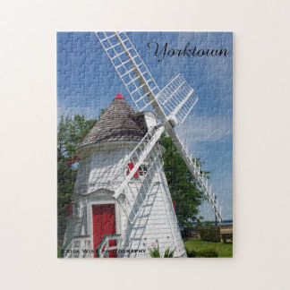 White Windmill Jigsaw Puzzle
