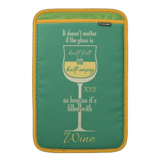 White Wine Glass custom device sleeves