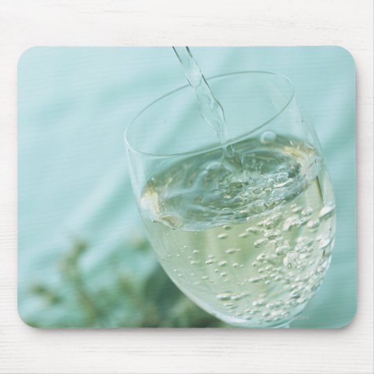White Wine Mouse Pad