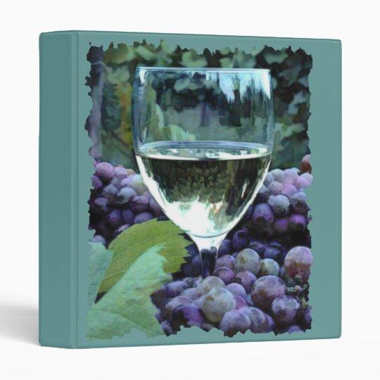 White Wine Reflections Binder