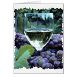 White Wine Reflections Card